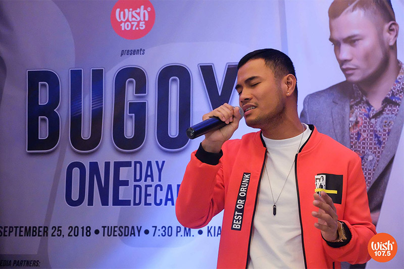 Bugoy Drilon One Day One decade Concert